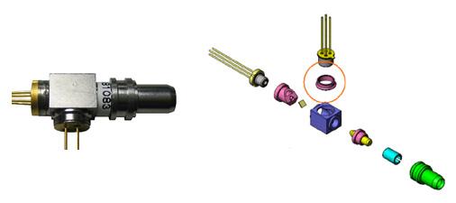 传统的分立元件的收发一体器件的典型结构可参见