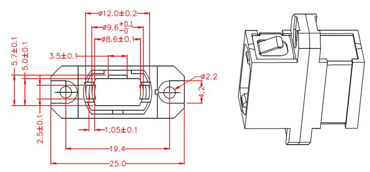 mpo光纤适配器_光模块专业制造商