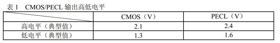 随着国内高速数据传输业务需求的增加,如何高质量的解决高速IC芯片间的互连变得越来越重要。而人们环保和节约能源意识的增强,市场竞争的加剧,也使得的来自功耗和成本的压力与日俱增。CMOS工艺由于成本低、功耗小、成品率与性价比高,加之尺寸的不断减 小很大地改善了原本速度慢的不足,优势越来越明显。因此,对于高速系统中的限幅放大器产品,CMOS将替代Bipolar/BiCMOS成为主流工艺。PECL是芯片间互连通常采用的接口之一,由此就产生了CMOS-PECL 的互连问题。下面正是针对此问题展开讨论。